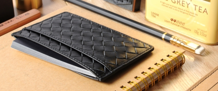 black-woven-slim-card-holder-banner